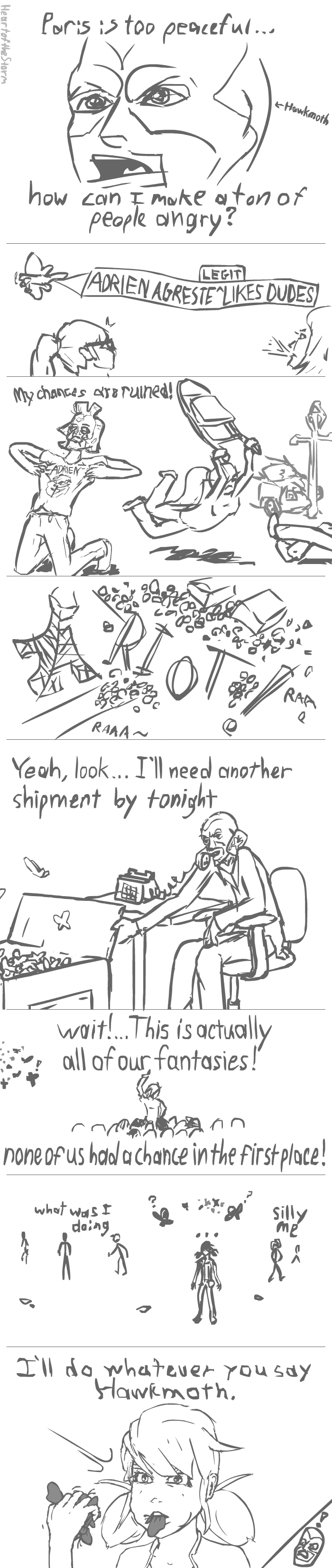 Dumb Miraculous Ladybug Comic