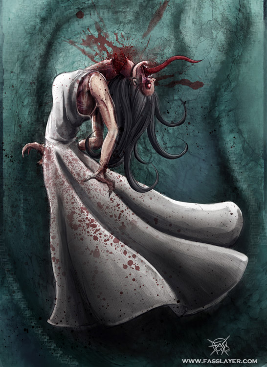 Bloody ghost