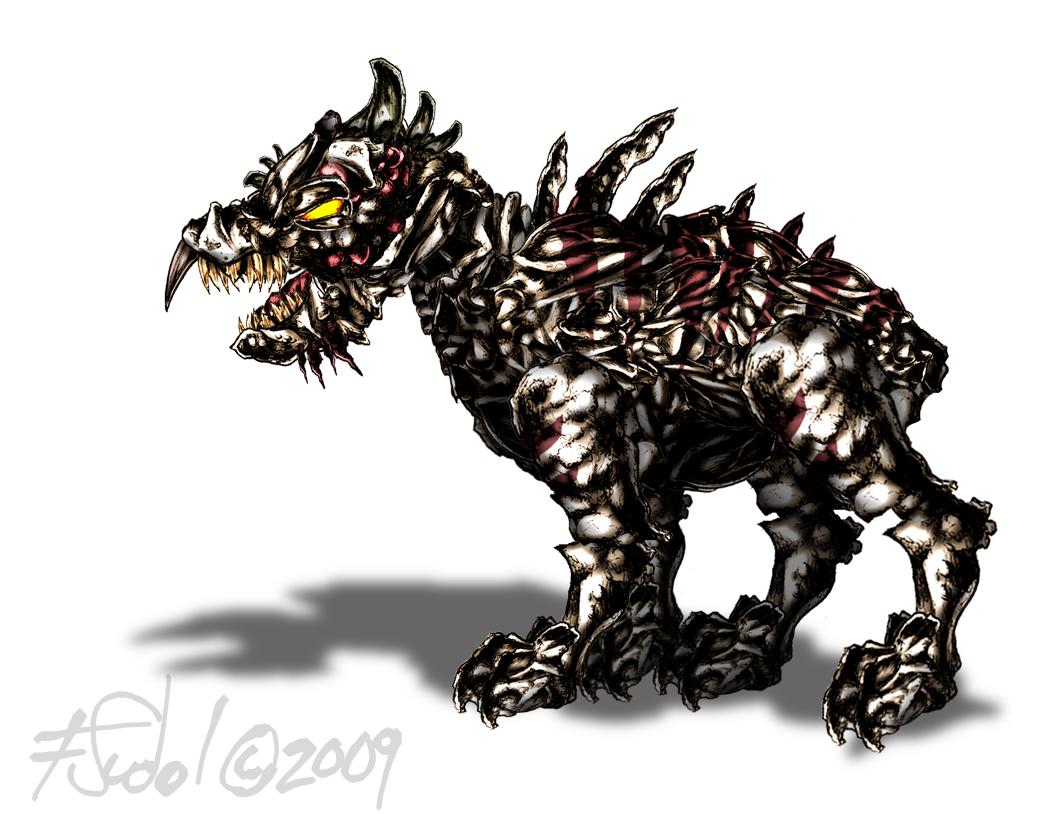 Hound Alien from Shock Invasion