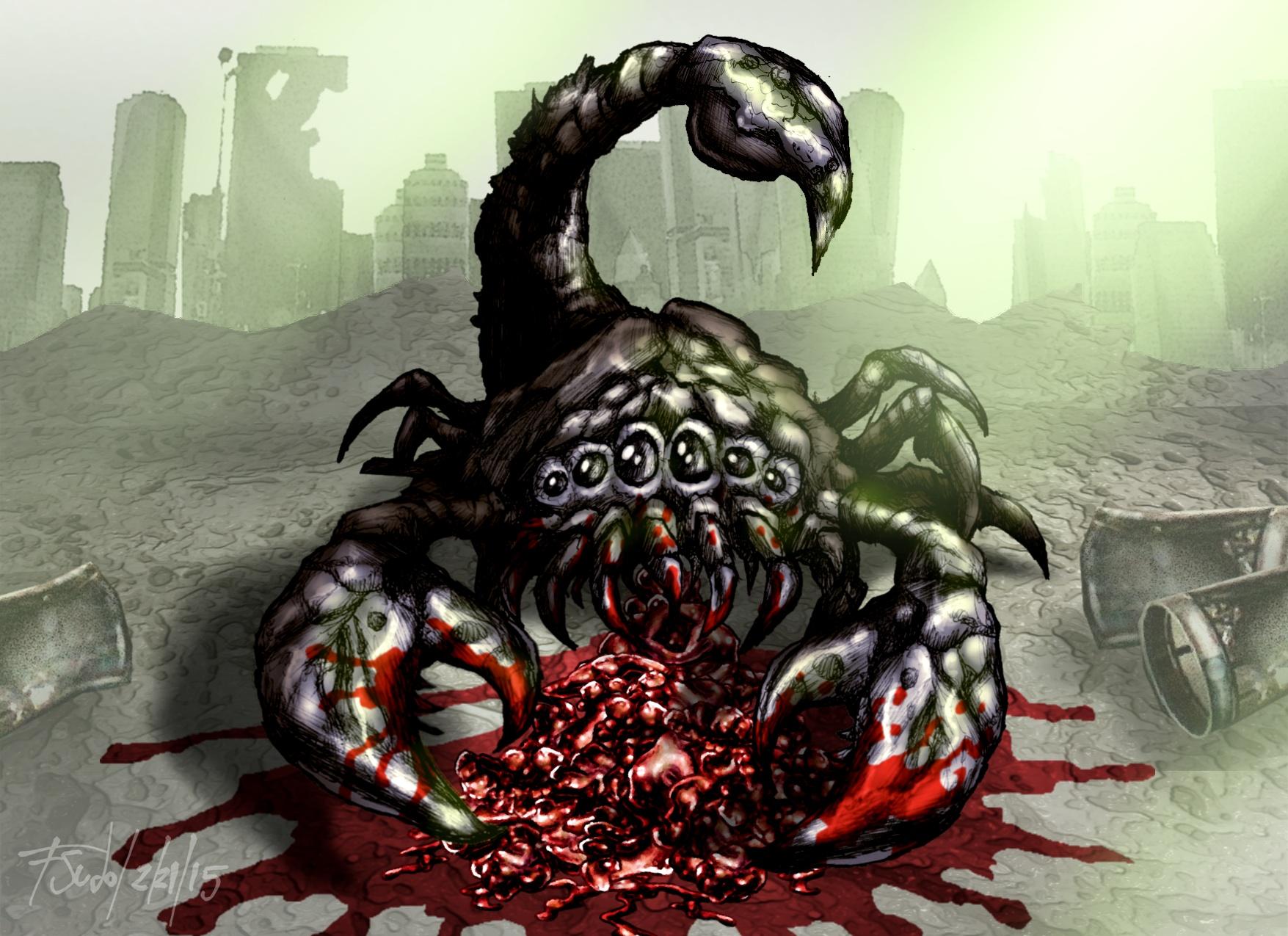 Scorpion Fallout Fan Art