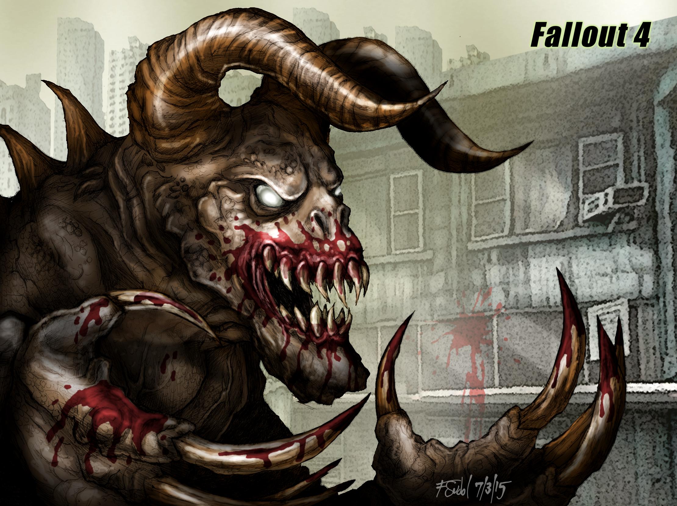 Death Claw 2 Fallout Fan Art