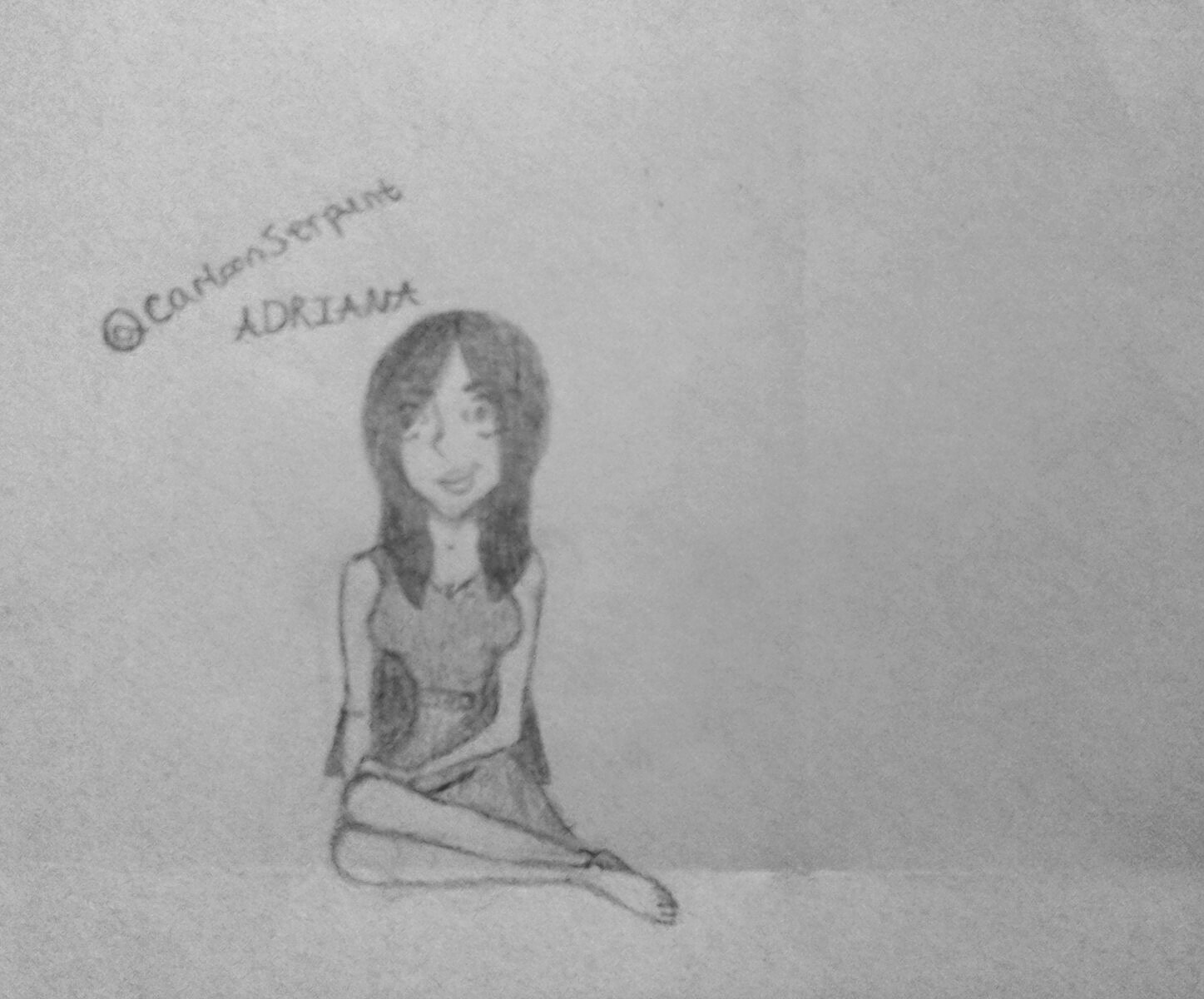 Sketch of a friend.