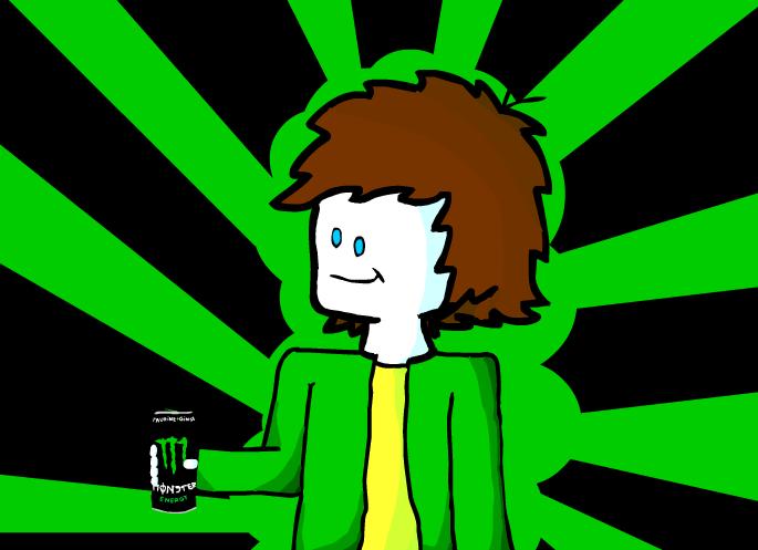 thenrgdrink drinking monster energy