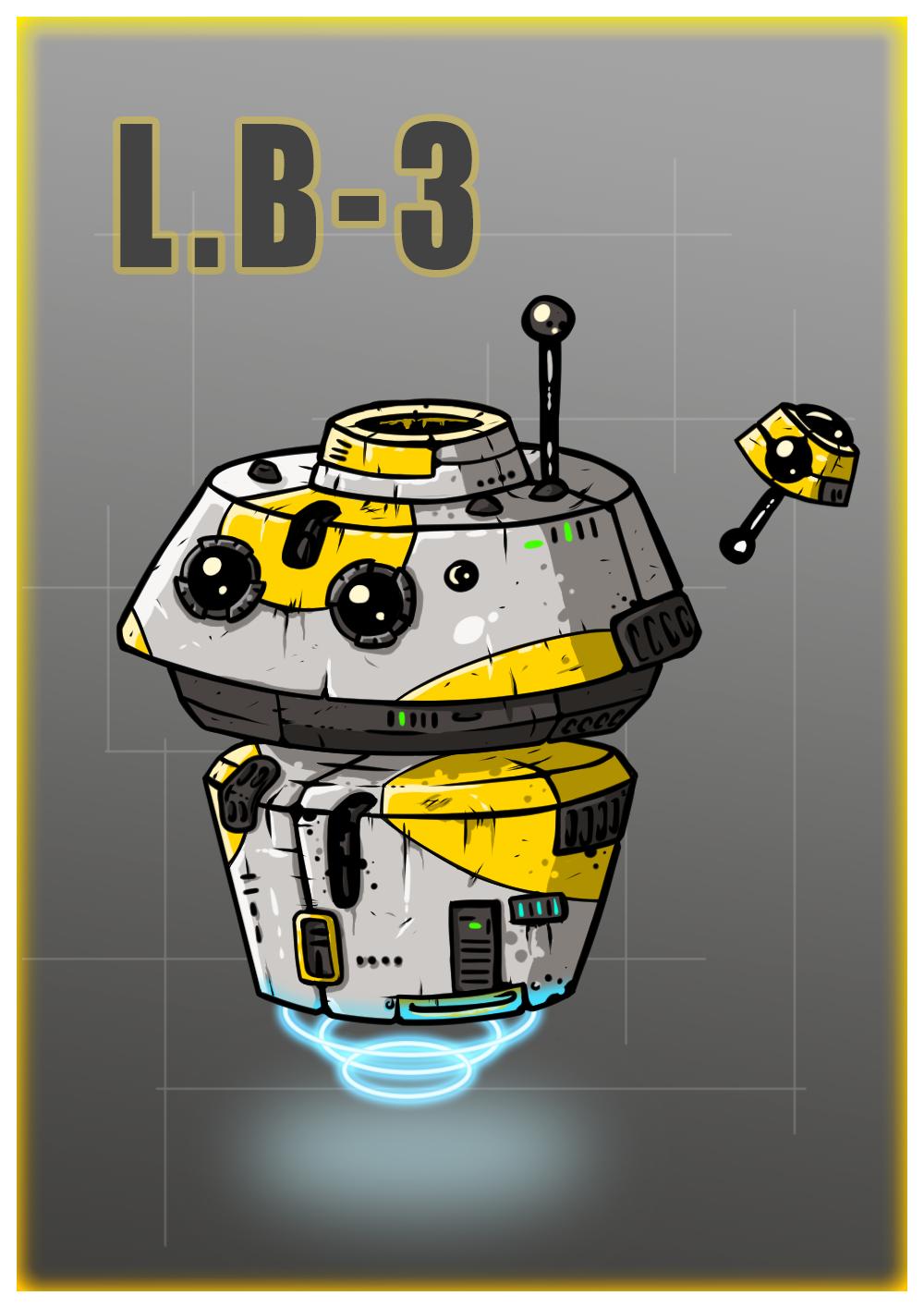 Star Wars Droid L.B-3