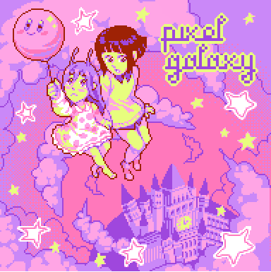 Pixel Galaxy EP cover (Ujico*/Snail's House)