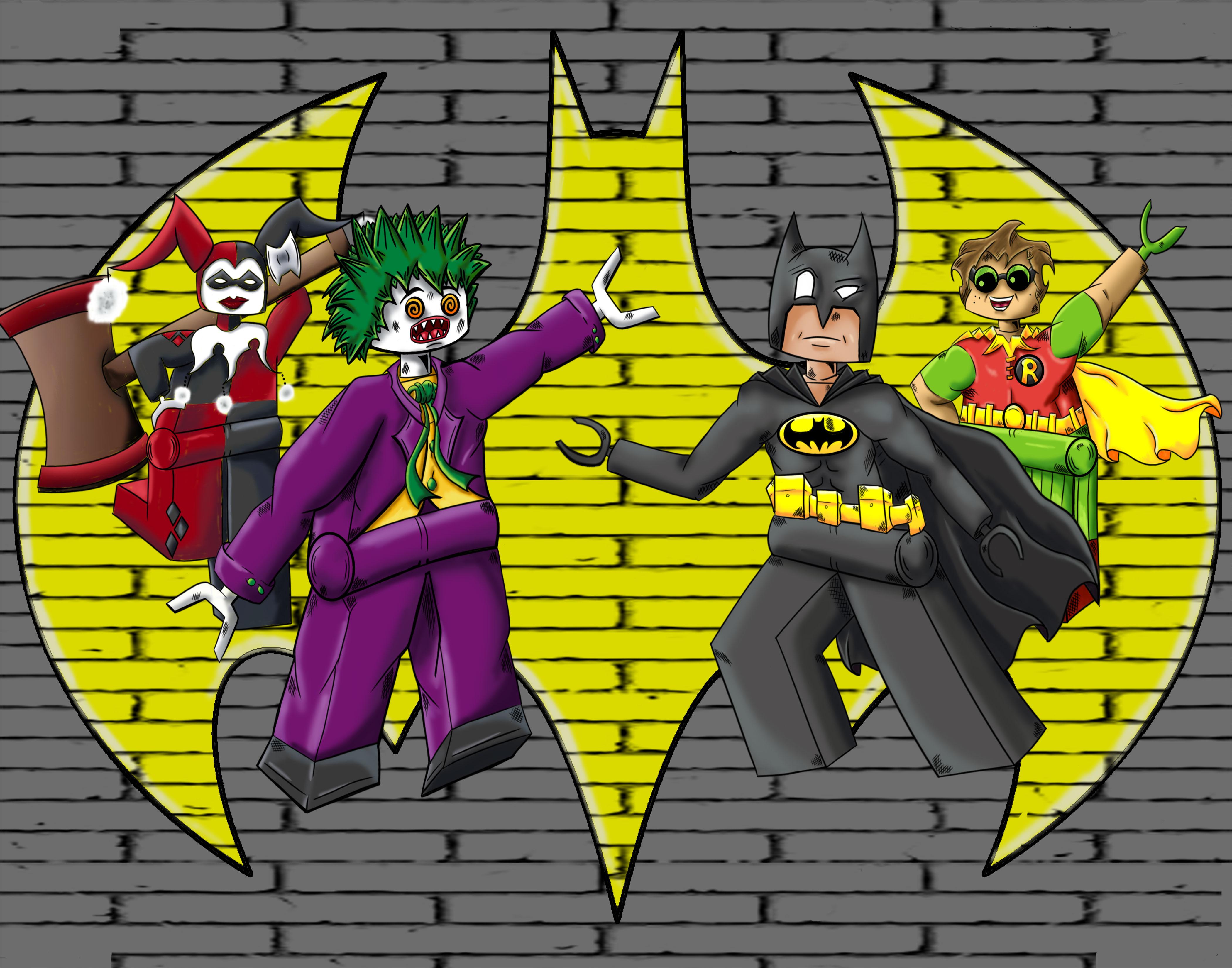 Lego Batman by CAStudioz on Newgrounds
