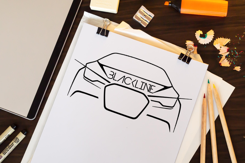 Logodesign - Blackline