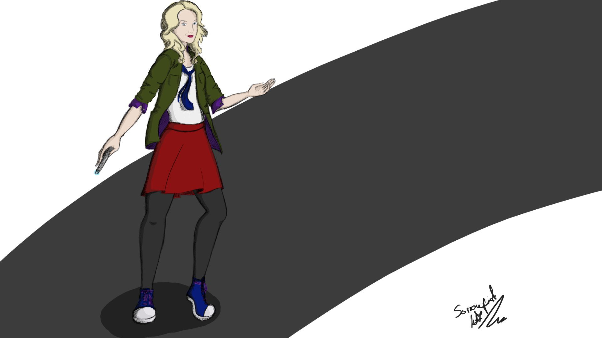 Evana Lynch as The Doctor