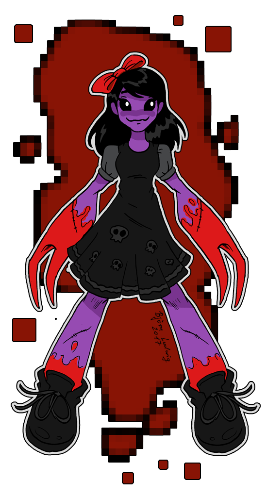 They Bleed Pixels: The Clawed Girl