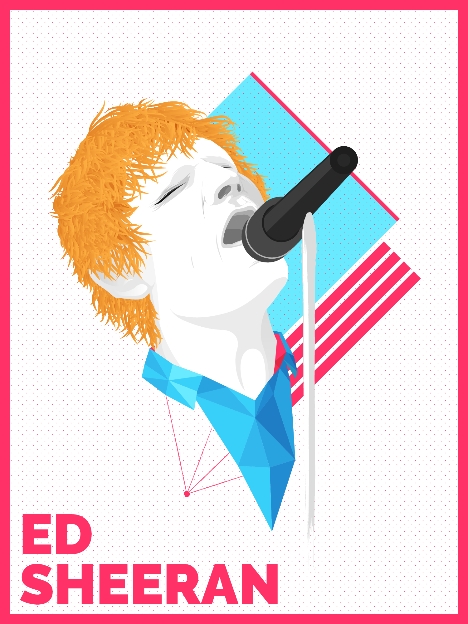 Ed Sheeran | Vector Portrait