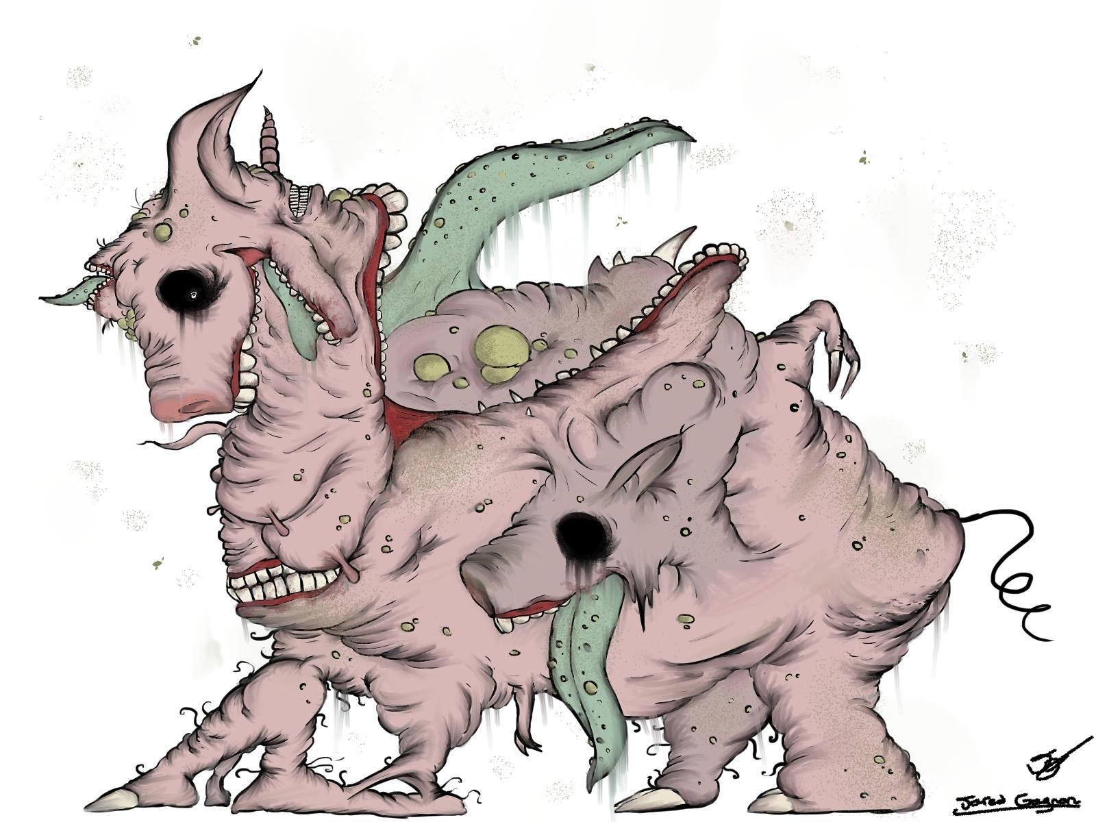 Gluttony Pig