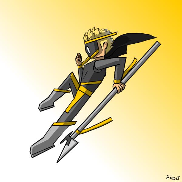 JauqAr- Golden Warrior
