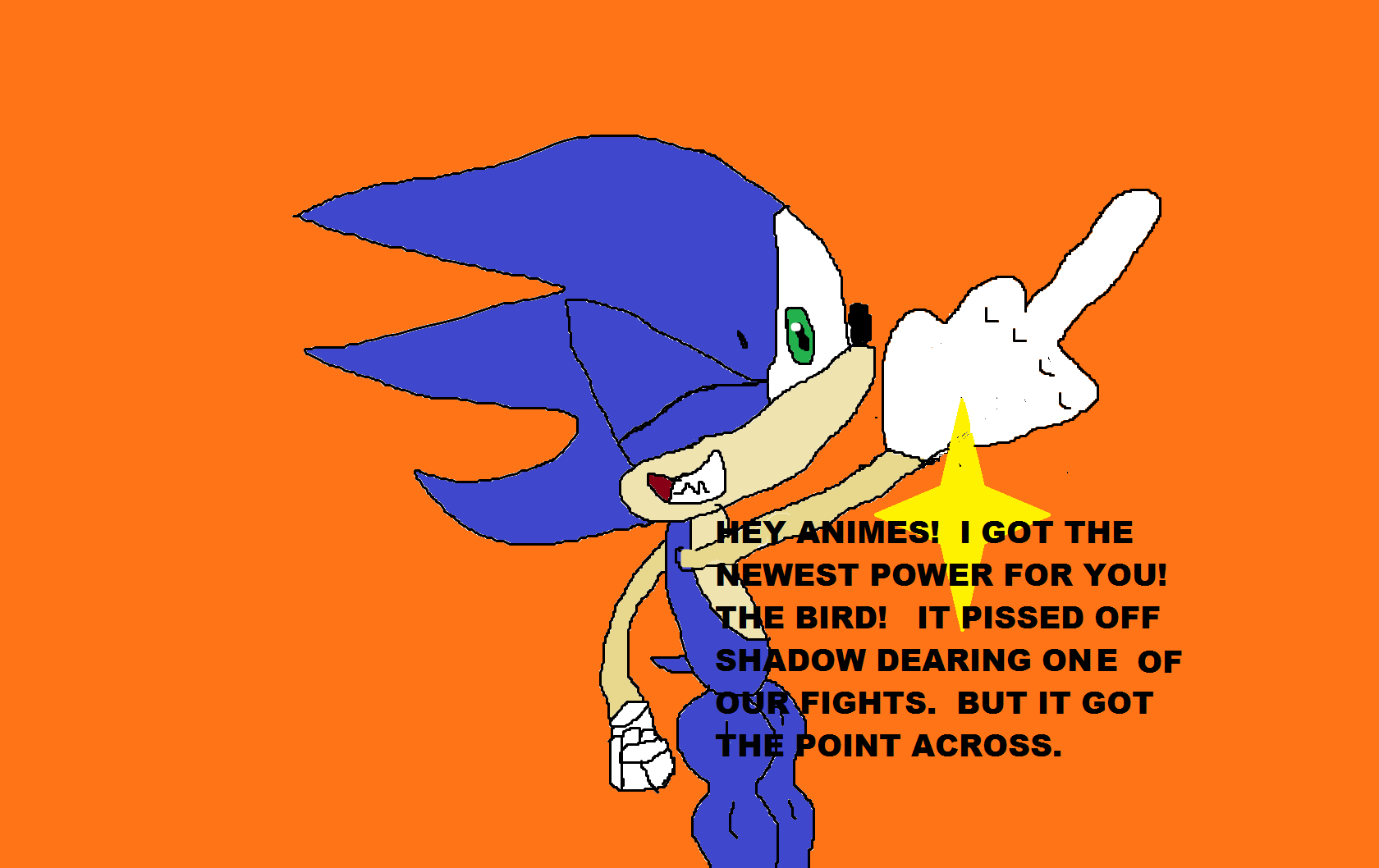 Sonic In The Middle