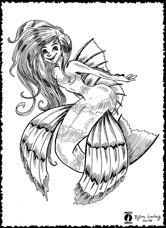 Sea Robin Mermaid