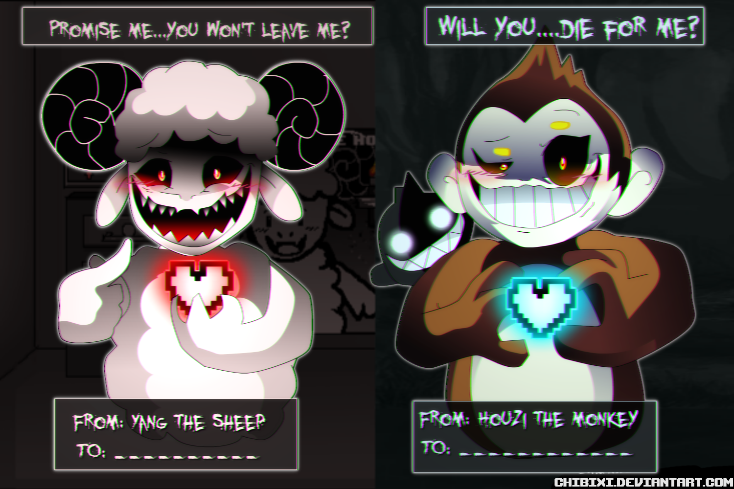 Can You Escape Love and Fate Valentines Day Cards!