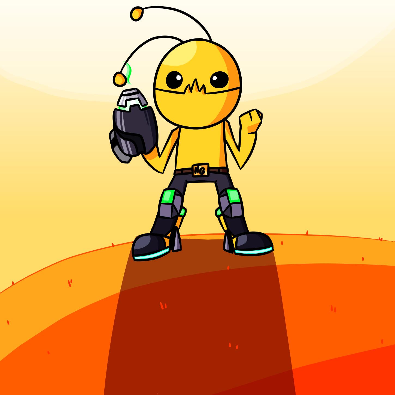 Alien Hominid - Mii Fighter Edition