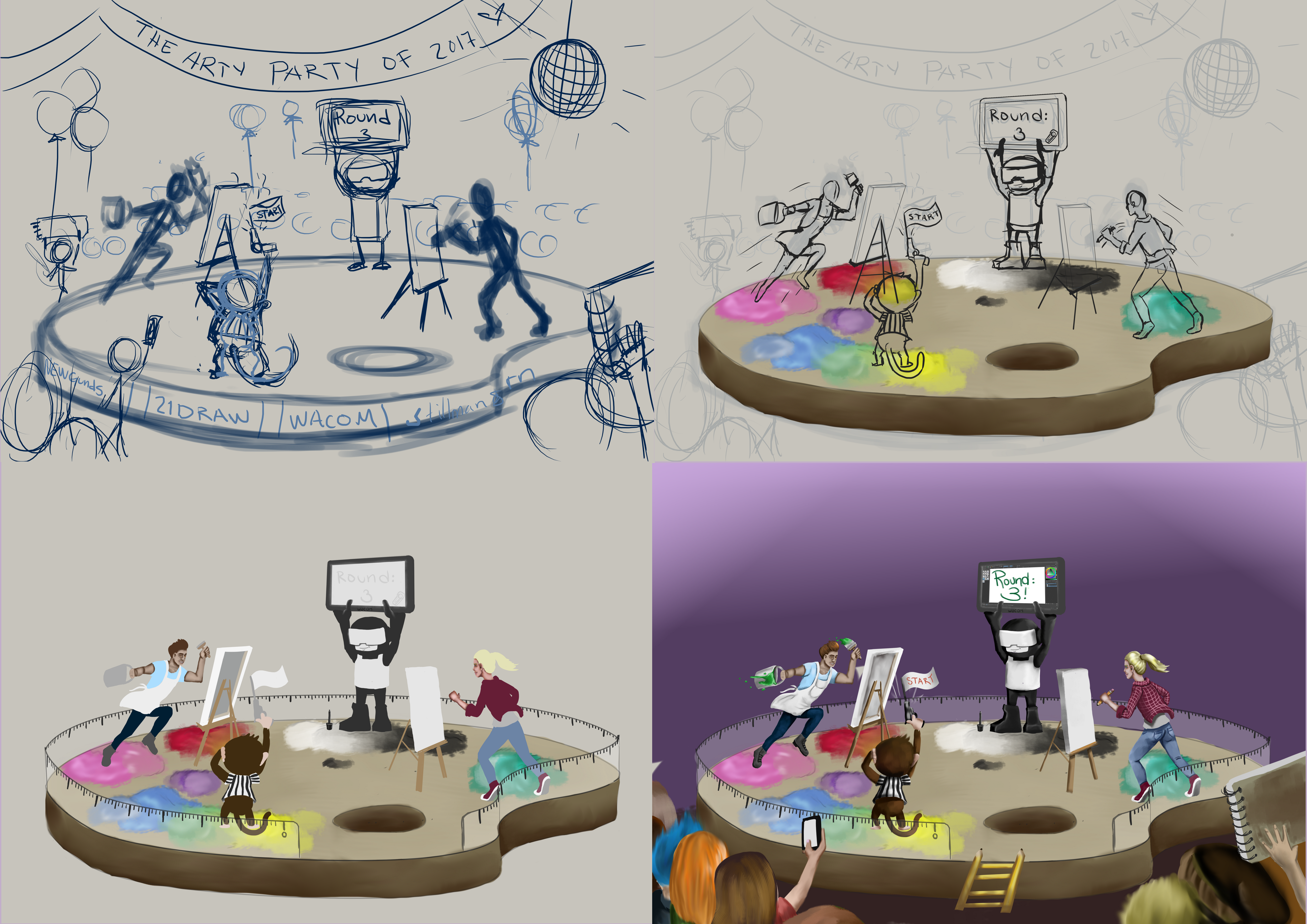 WIP Epic Arty party