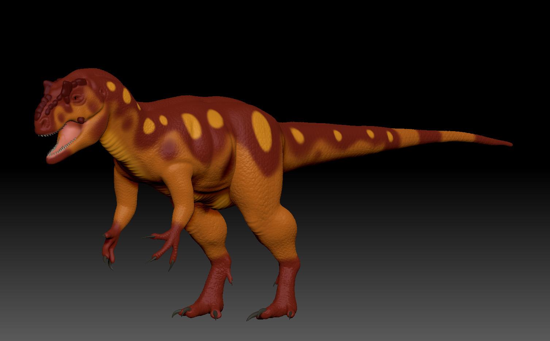 ZBrush Allosaurus