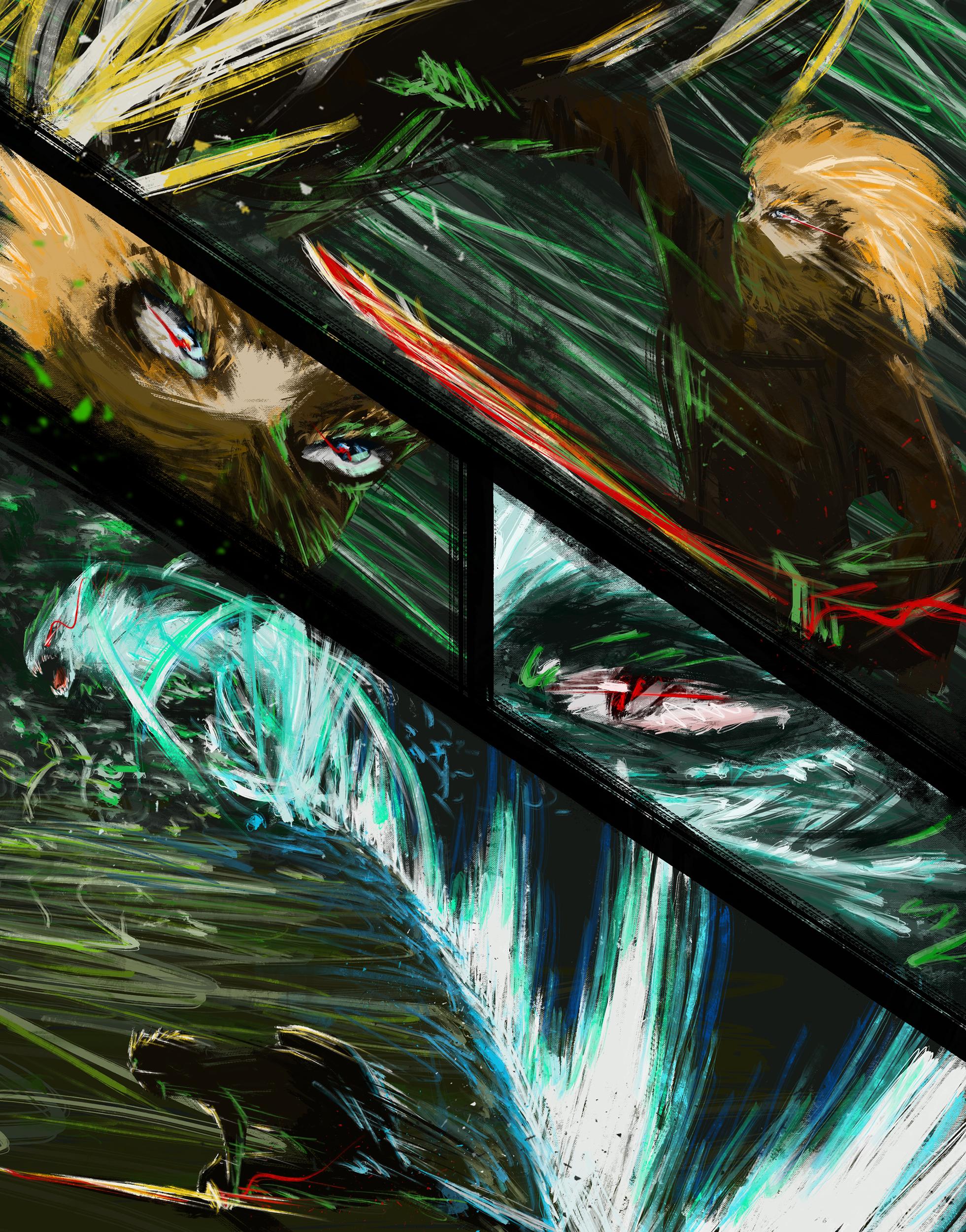 Fighting - 05 - The Pillar's Beast