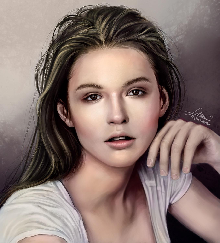 Polly Pokrovskaya Portrait