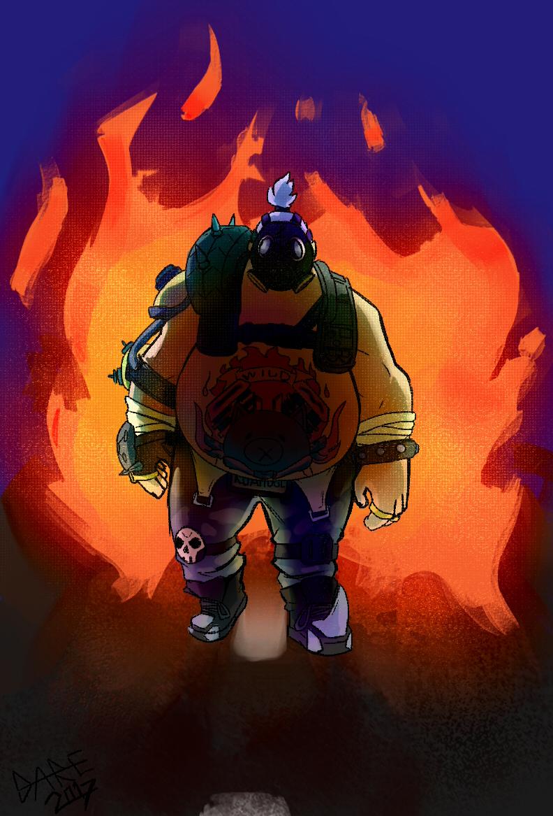 one man apocalypse