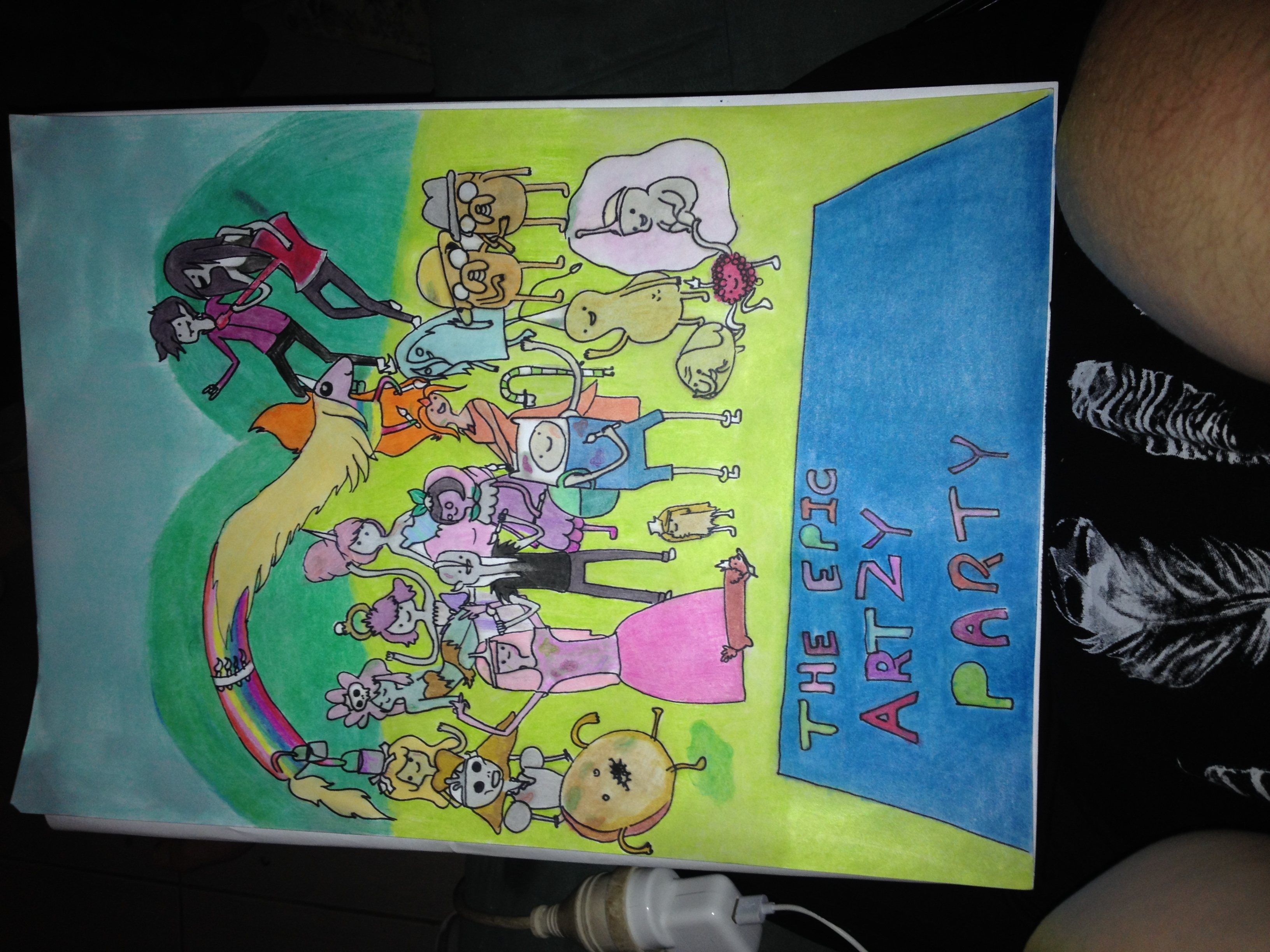 Adventure time epic arty party