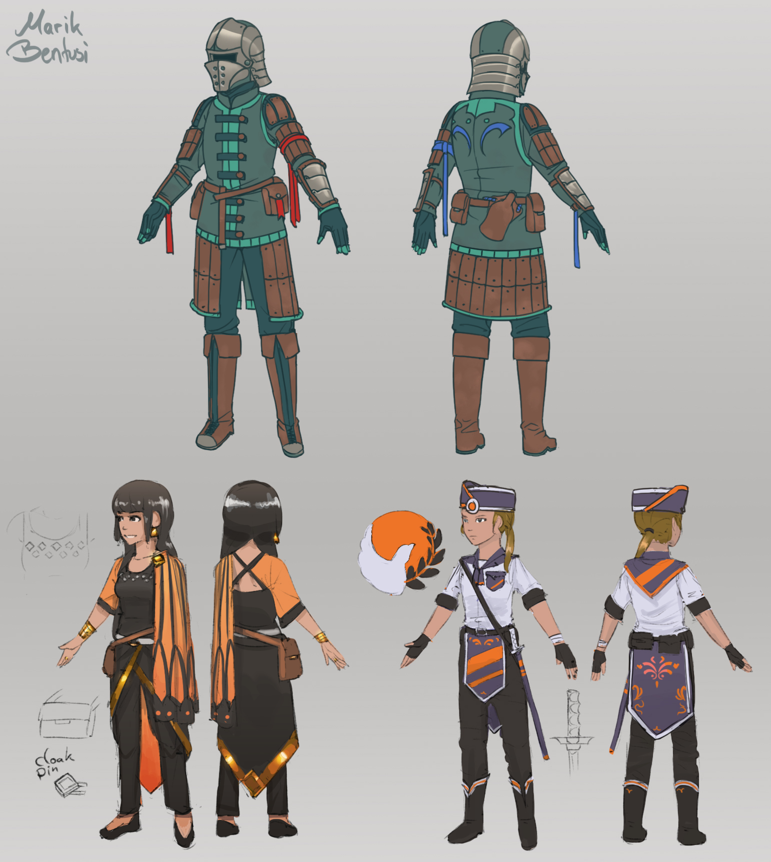 some char concepts