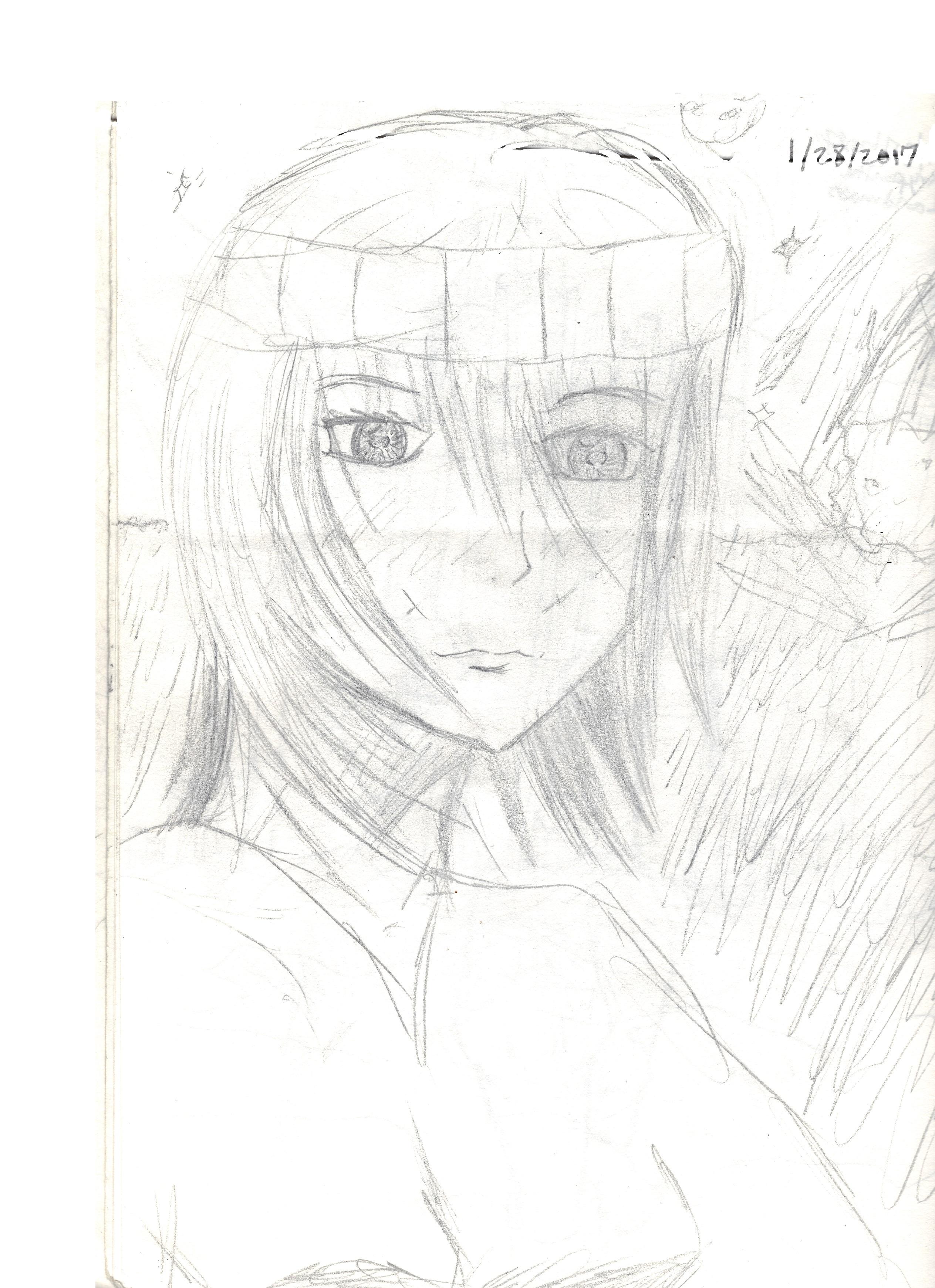 Naomi Initial Sketch