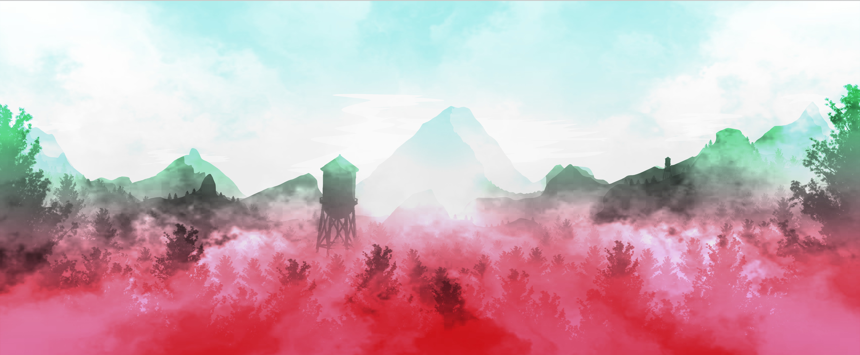 / Landscape Illustration 4 // Euphoria /