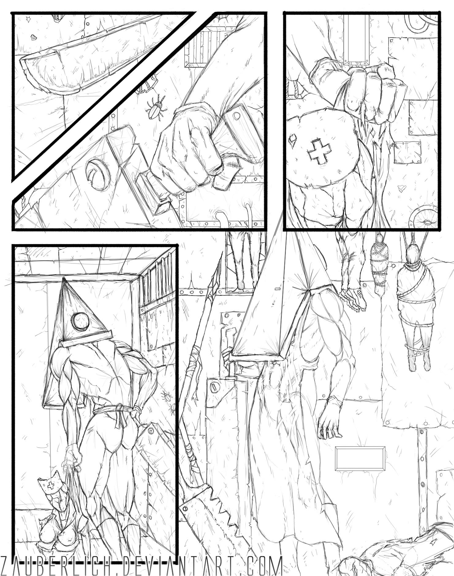 Silent Hill Comic Collab Lines