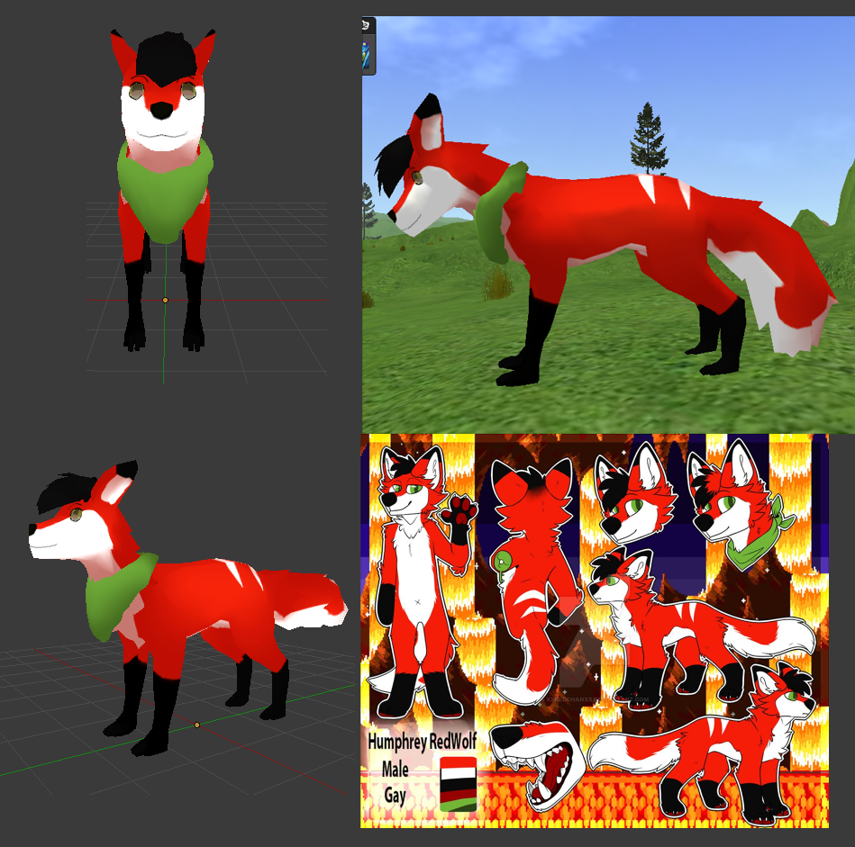 Commission 01 - 3D MODEL
