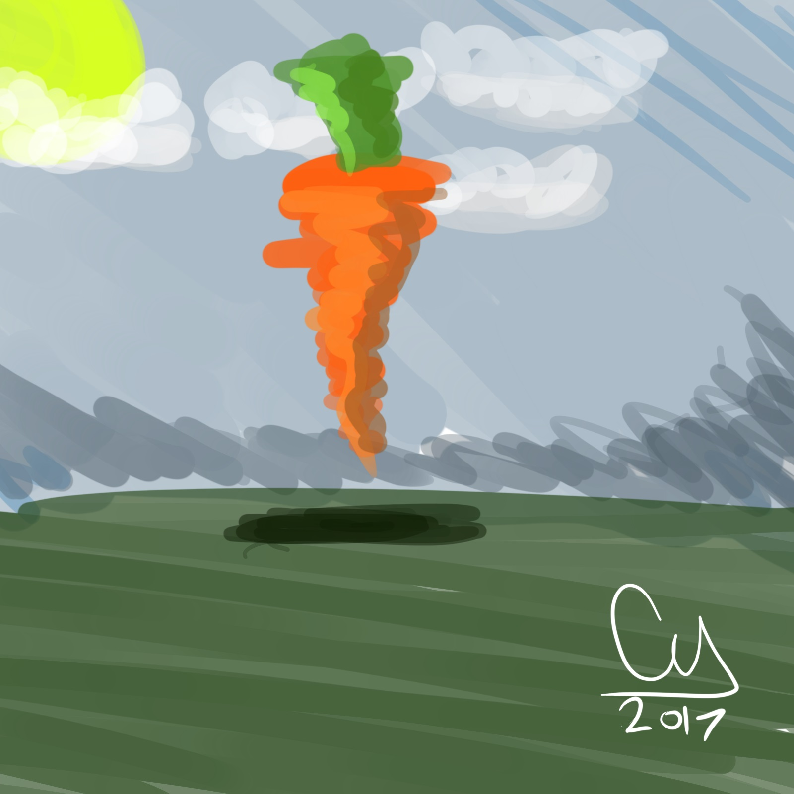 Floating Carrot?...