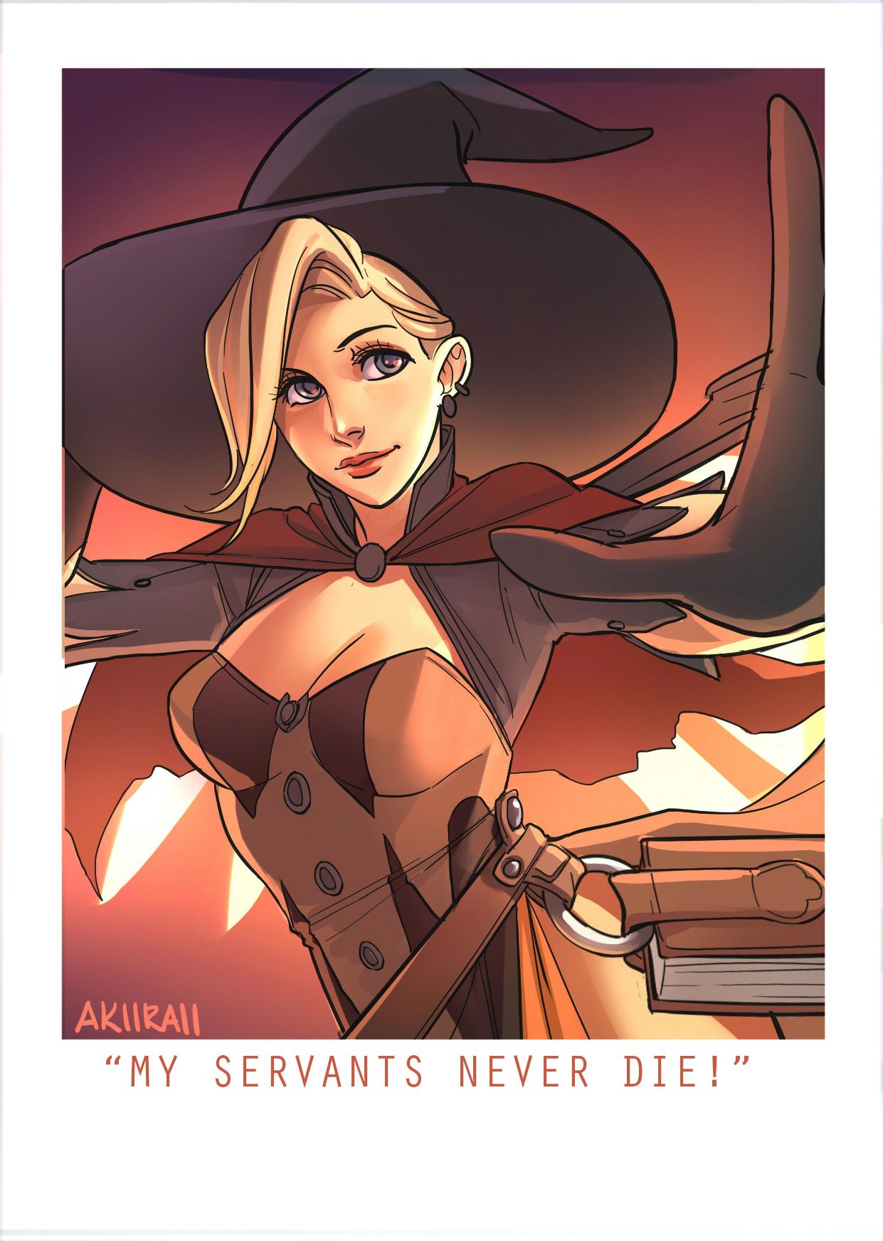 Mercy Halloween Witch