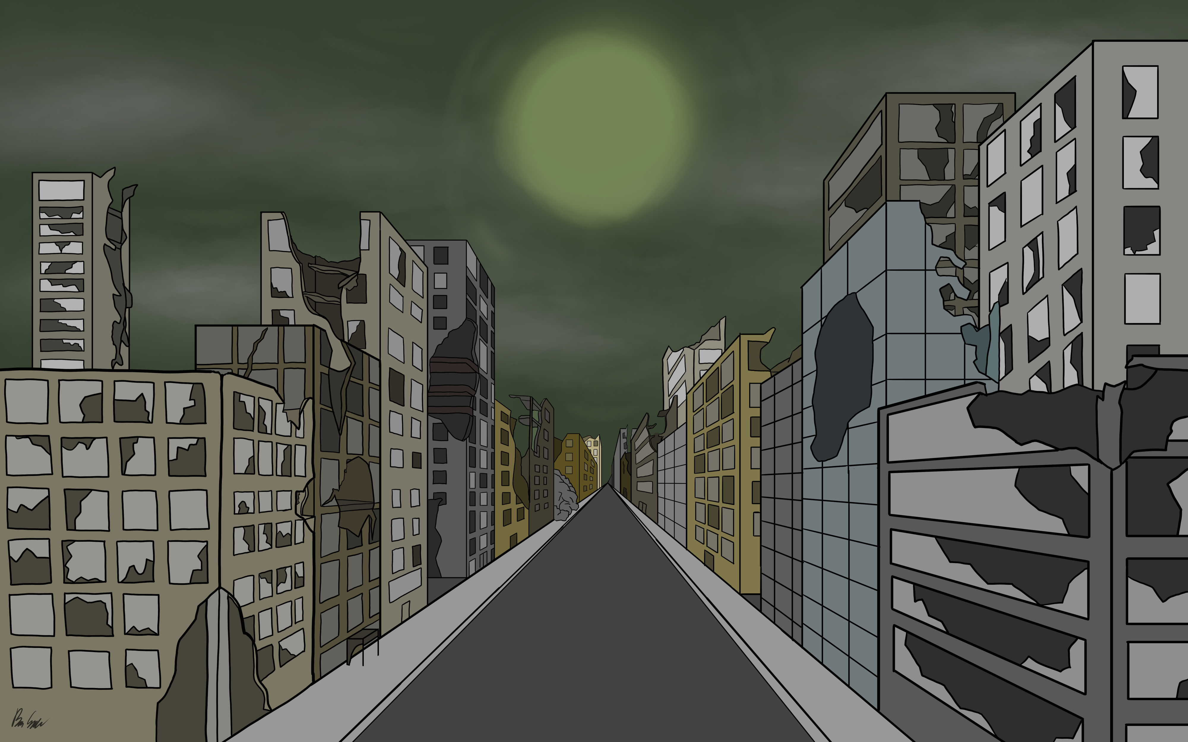 My Credit Score >> Abandoned City by GrilledCheese042 on Newgrounds