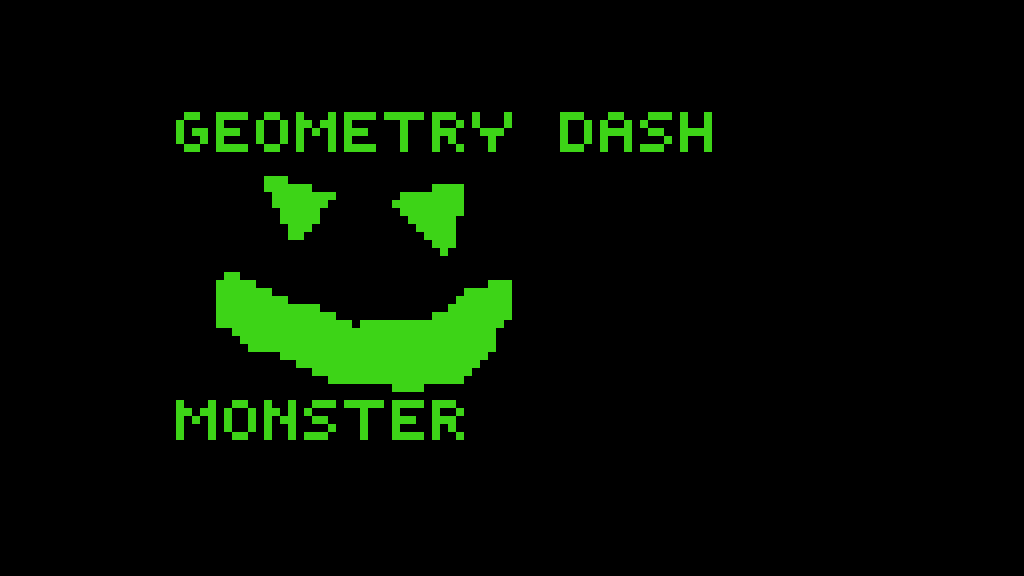 Geometry Dash Monster