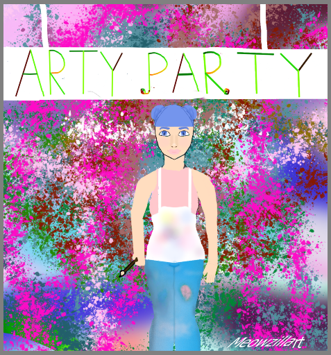 Lets Art UP This Party!