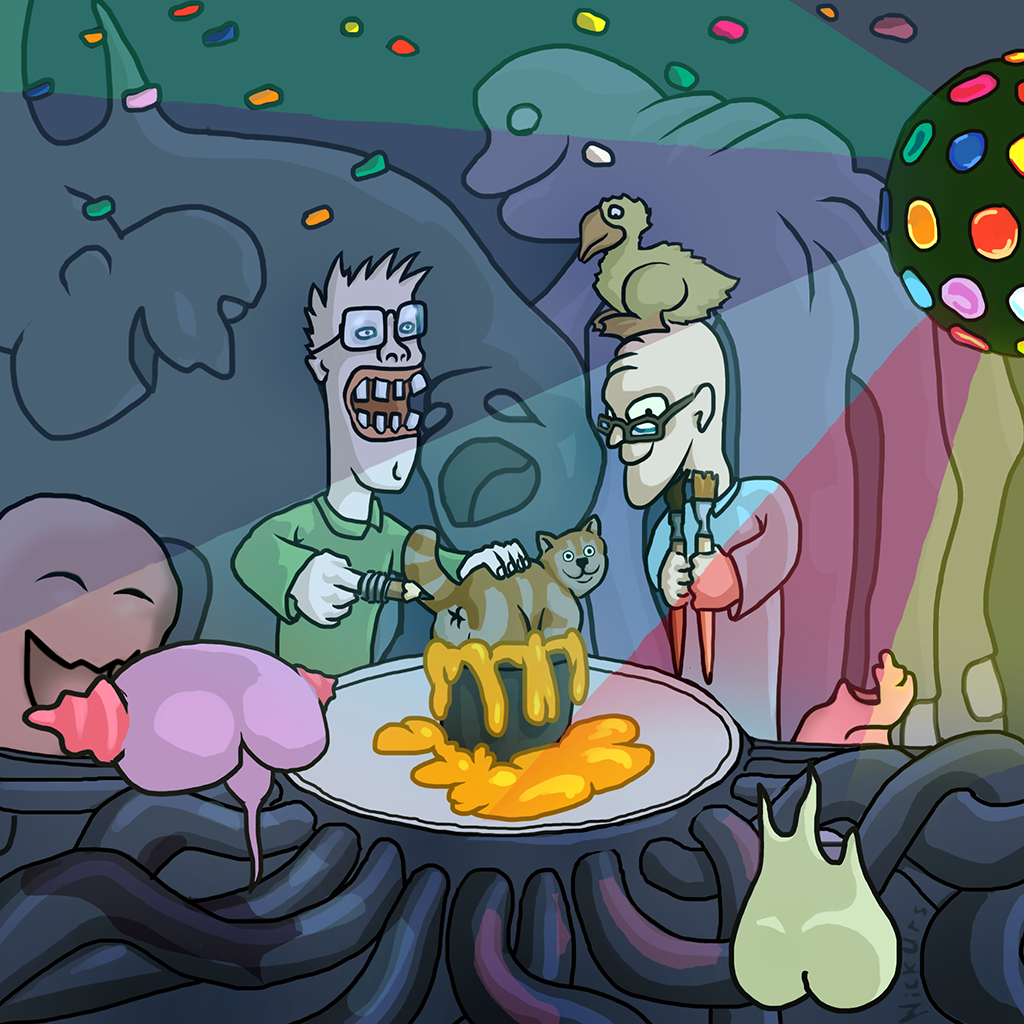 Probably an Epic Party with Cat