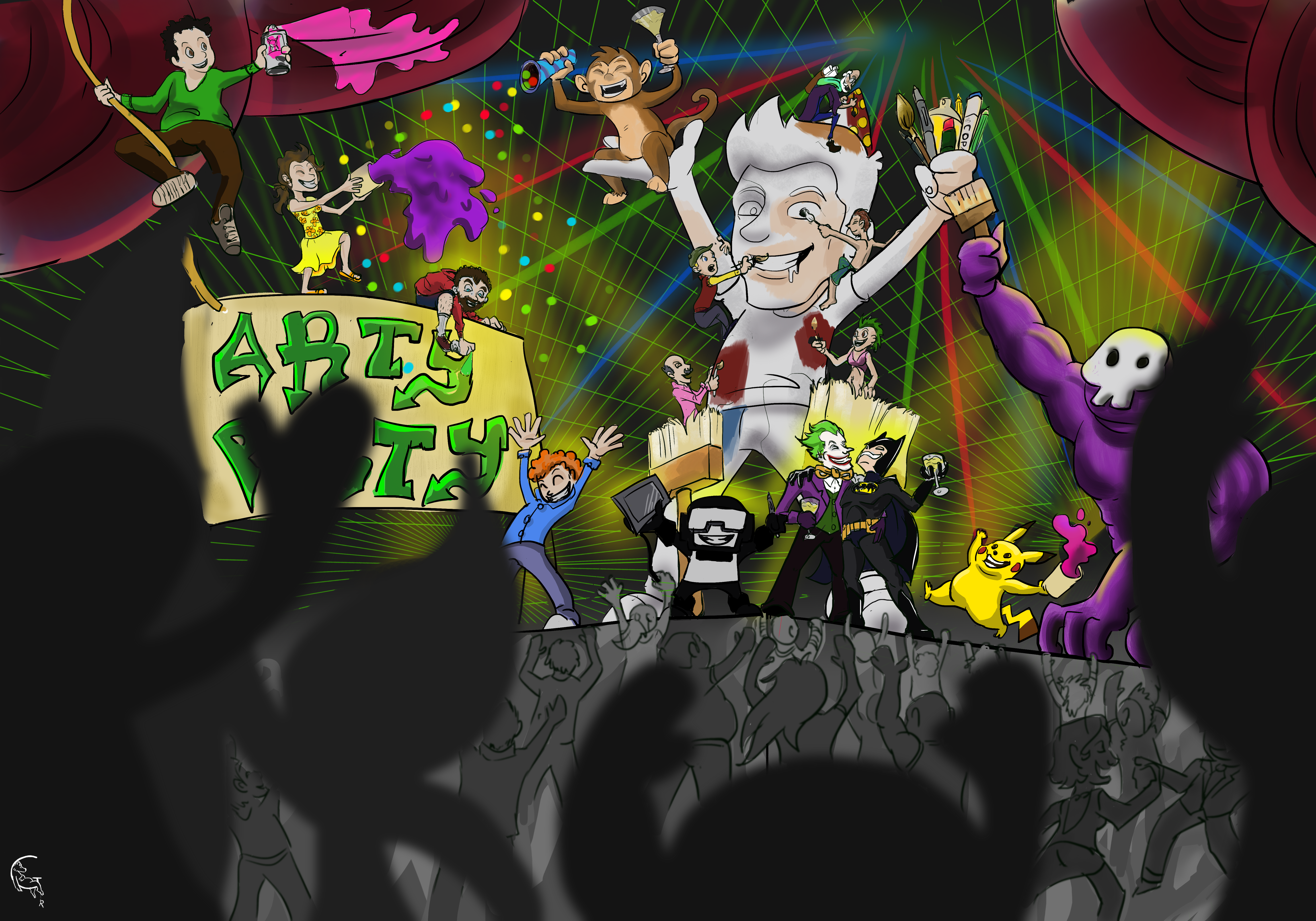Epic Arty Party