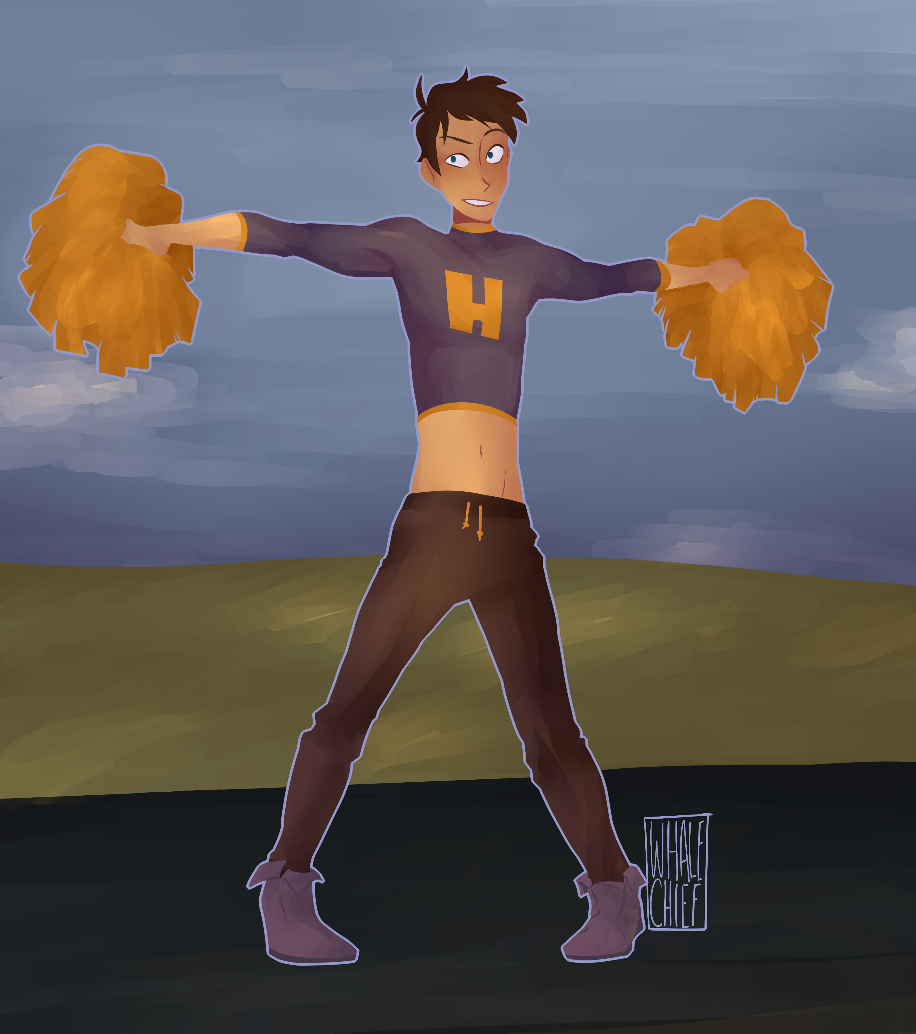 Voltron - Male Cheerleader