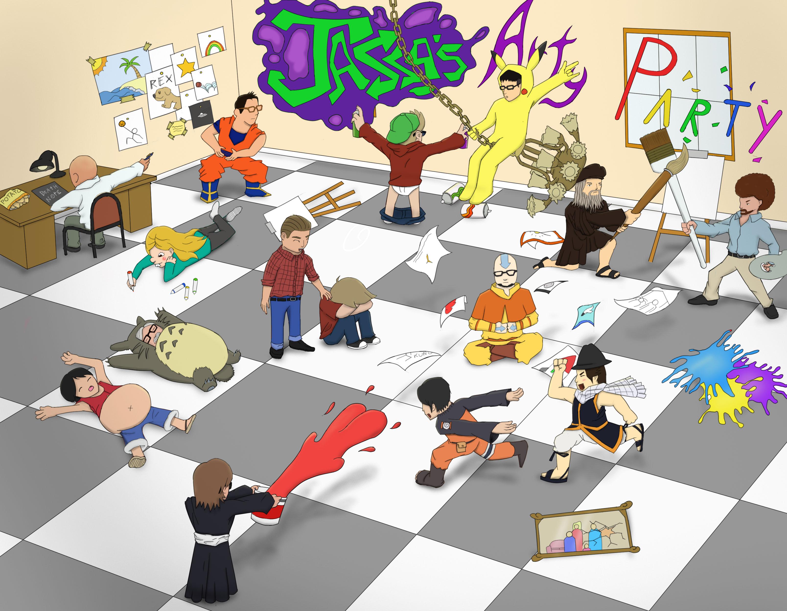 A True Arty Party