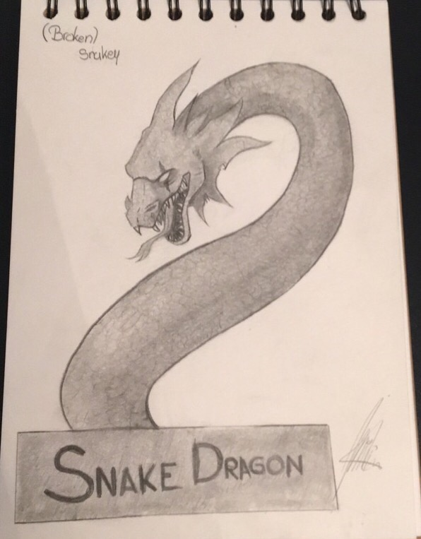 Snakey The Snake Dragon