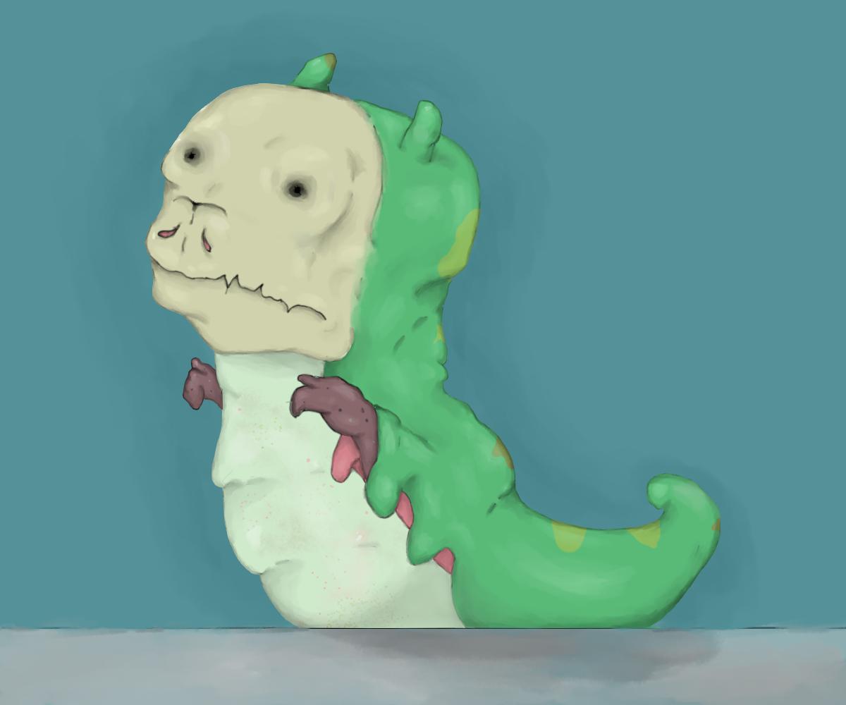 malformed caterpillar