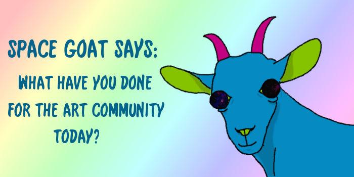 Space Goat Says
