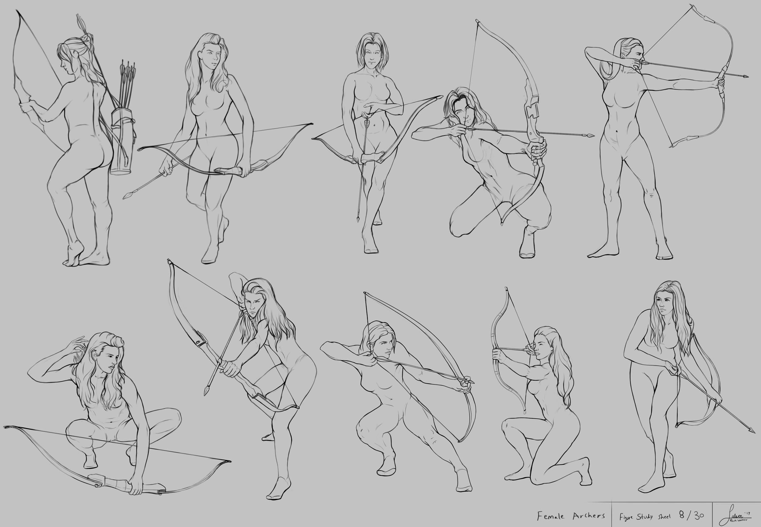 """Figure drawing part 8 """"Detailed"""""""