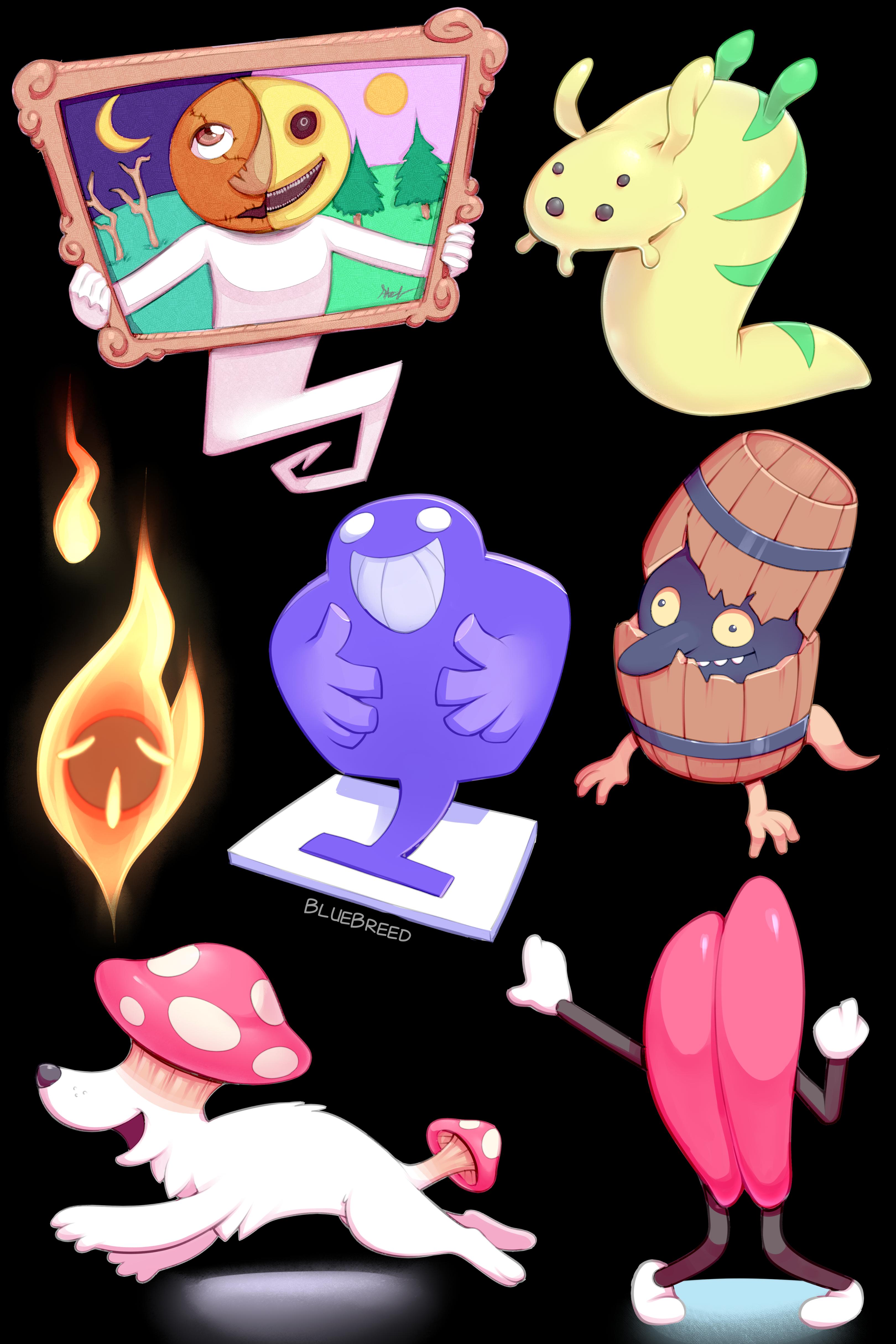 Mother 3 Enemy Doodles