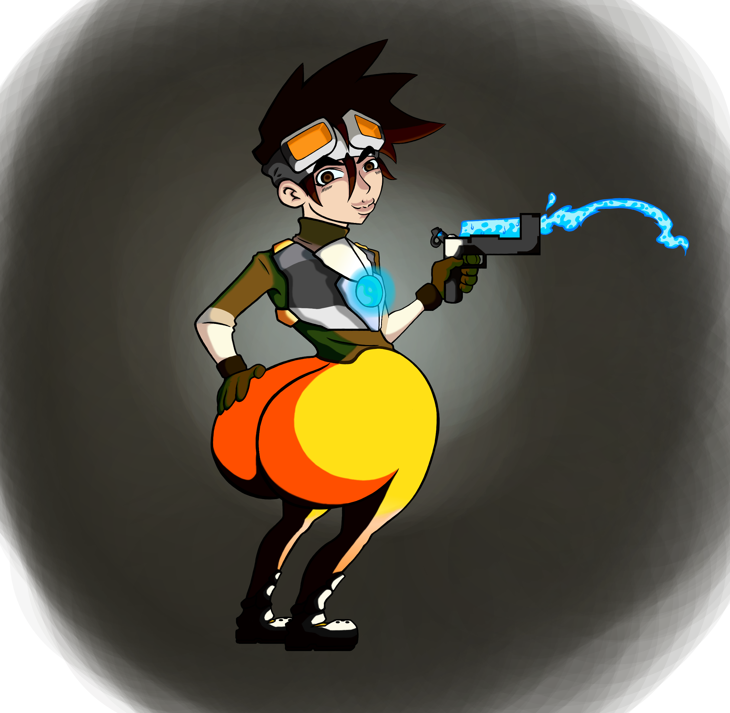 Tracer from memory by adamlink7 on Newgrounds