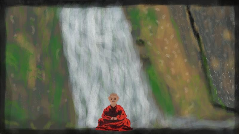 Monk Meditation