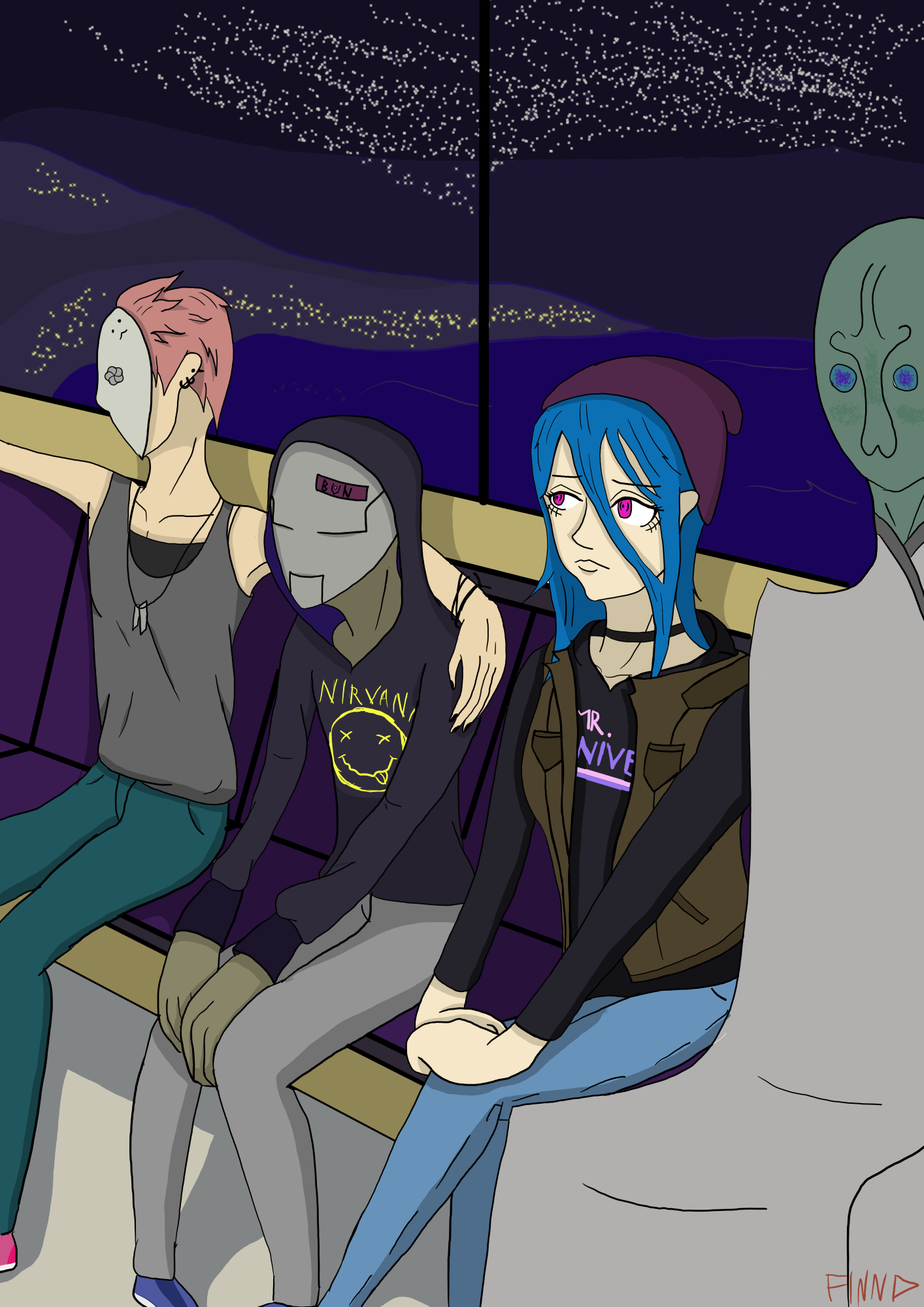 Train Strangers