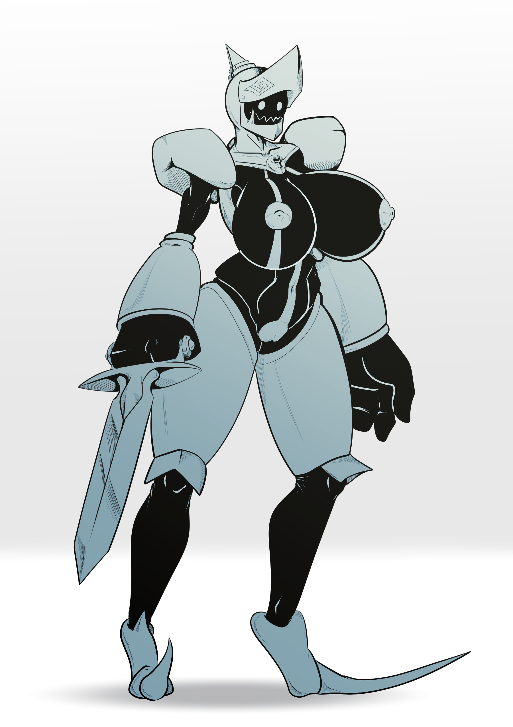 Heartless Armored Knight