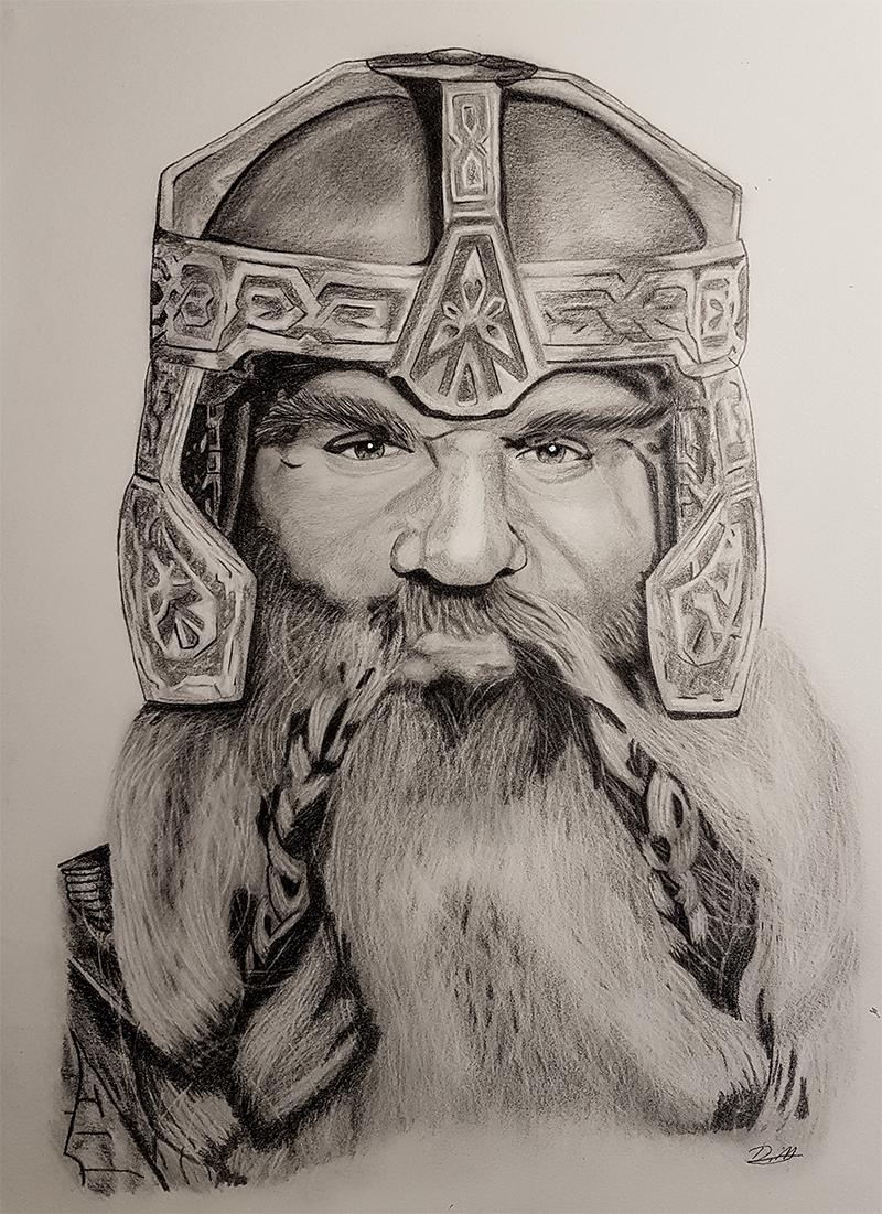 Gimli - Lord Of The Rings